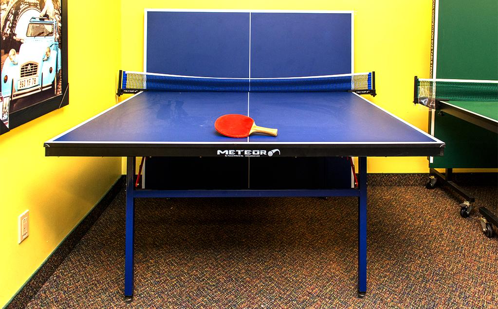 tennis sur table table de ping pong et accessoires. Black Bedroom Furniture Sets. Home Design Ideas